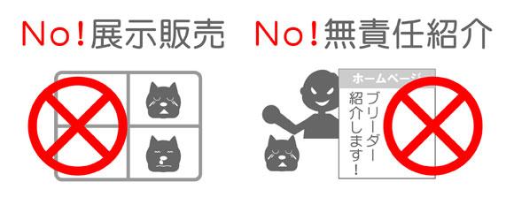 No展示販売・No無責任紹介